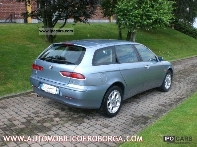 2002 alfa romeo 156 sportwagon 1 9 jtd related infomation specifications weili automotive network. Black Bedroom Furniture Sets. Home Design Ideas