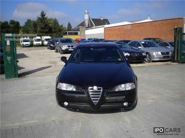 2006 Alfa Romeo  166 2.4 JTD vision, xenon Limousine Used vehicle photo