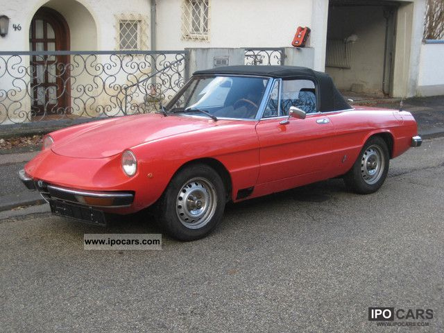 1979 alfa romeo spider 2000 car photo and specs. Black Bedroom Furniture Sets. Home Design Ideas