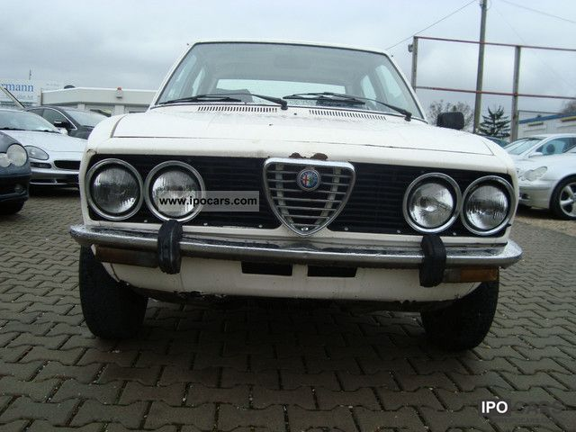 Alfa Romeo  Alfetta 1.8 rarity! Very Rare! 1979 Vintage, Classic and Old Cars photo