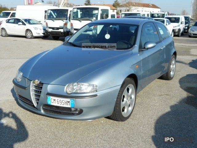 Alfa Romeo  147 1.6 3 PORTE DISTINCTIVE GPL 2004 Liquefied Petroleum Gas Cars (LPG, GPL, propane) photo