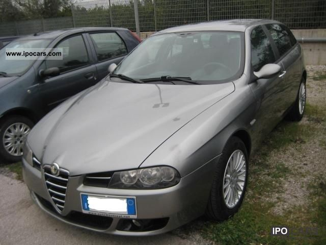 2005 alfa romeo 156 1 9 jtd 16v sw car photo and specs. Black Bedroom Furniture Sets. Home Design Ideas
