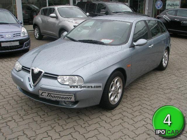 2002 Alfa Romeo  156 Sportwagon 1.8 TS climate control, aluminum, BOSE Estate Car Used vehicle photo
