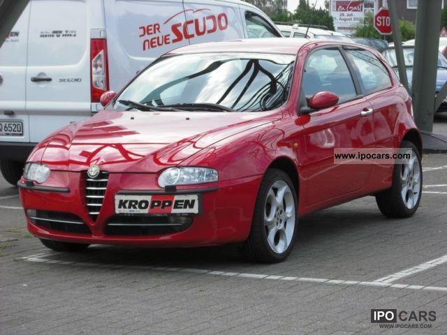 2004 alfa romeo 147 1 9 jtd 16v progression car photo and specs. Black Bedroom Furniture Sets. Home Design Ideas