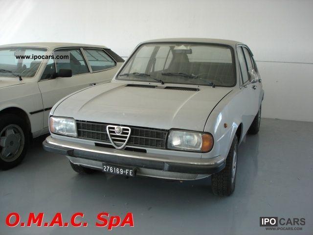 Alfa Romeo  Alfasud 1.2 4 porte N 1979 Vintage, Classic and Old Cars photo