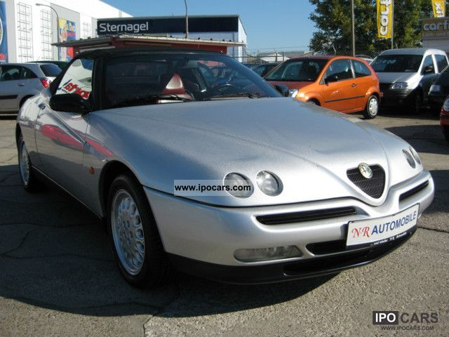 1997 Alfa Romeo  Alfa Spider 2.0 16V leather air conditioning! Cabrio / roadster Used vehicle photo