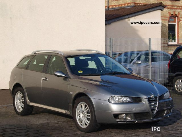 2005 alfa romeo alfa 156 1 9 jtd 16v q4 crosswagon car photo and specs. Black Bedroom Furniture Sets. Home Design Ideas