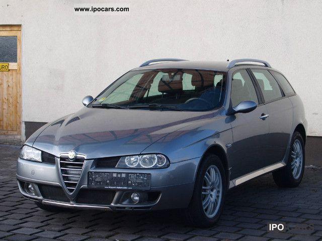 2005 alfa romeo alfa 156 1 9 jtd 16v q4 crosswagon car photo and specs. Black Bedroom Furniture Sets. Home Design Ideas