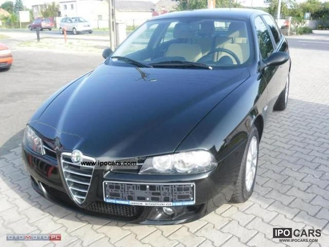 2005 alfa romeo 156 1 9 jtd 150 km car photo and specs. Black Bedroom Furniture Sets. Home Design Ideas