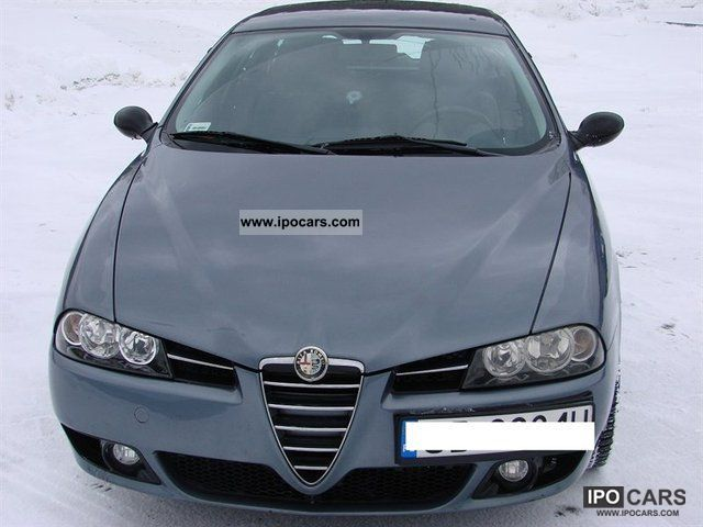 Alfa Romeo  156 Combi 2004 Liquefied Petroleum Gas Cars (LPG, GPL, propane) photo