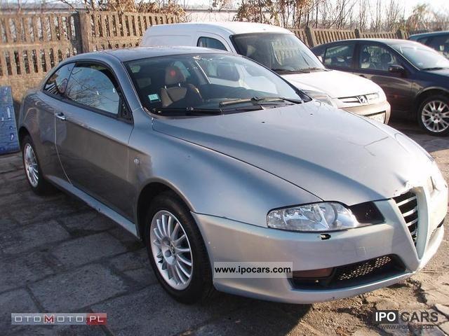 2007 Alfa Romeo  GT Q2 61TYS PRZEB. OPŁACONY Sports car/Coupe Used vehicle photo