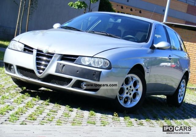 2004 Alfa Romeo  156 140km 6 BIEGOW ALKANTARY OPLAC Estate Car Used vehicle photo