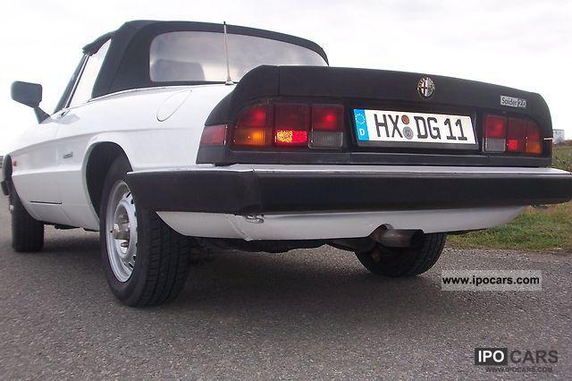 1989 Alfa Romeo  Green sticker Spider 2.0 Cabrio / roadster Used vehicle photo