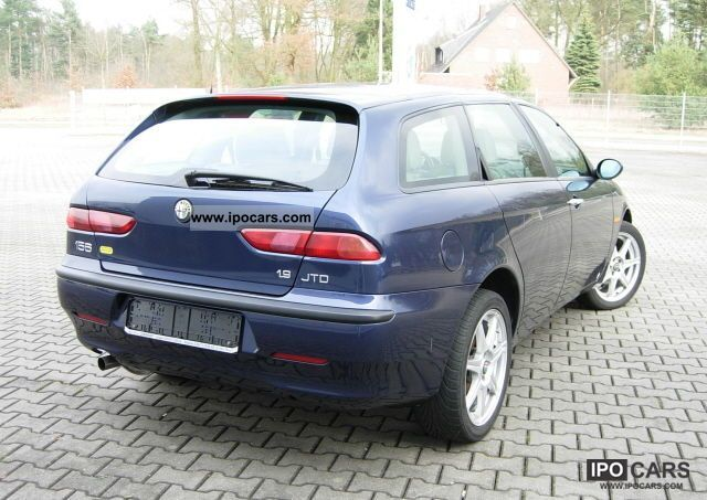 2002 alfa romeo 156 sportwagon 1 9 jtd progression car photo and specs. Black Bedroom Furniture Sets. Home Design Ideas