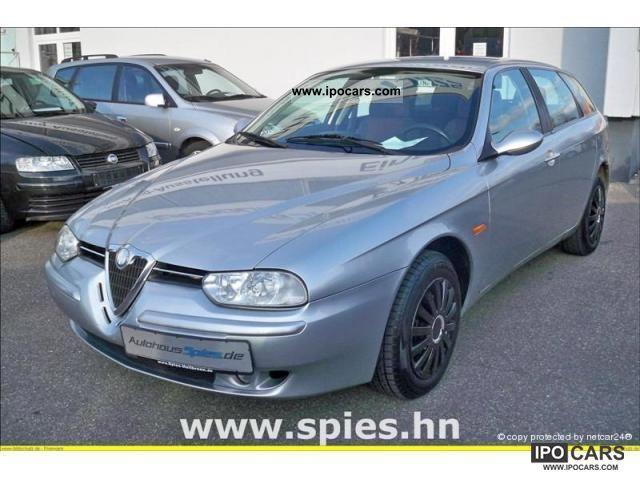 2002 Alfa Romeo 156 Sportwagon 2.0 JTS progression Estate Car Used ...