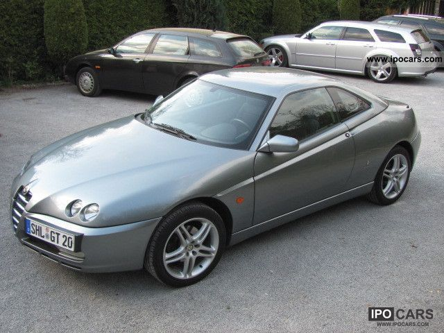 alfa romeo gtv  jts climate control  frosted car photo  specs