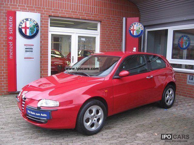2002 Alfa Romeo  147 Distinctive 1.6TS 16V 120PS Limousine Used vehicle photo