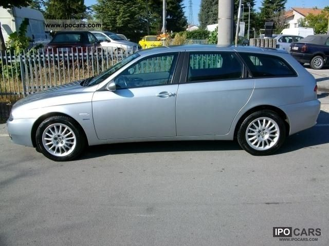 2005 alfa romeo alfa 156 1900 sw tdi 150 cv car photo and specs. Black Bedroom Furniture Sets. Home Design Ideas