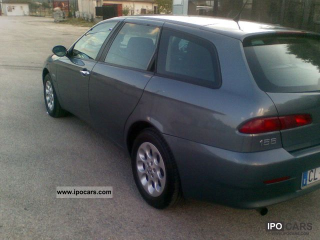 2004 alfa romeo 156 jtd 1 9 sw car photo and specs. Black Bedroom Furniture Sets. Home Design Ideas