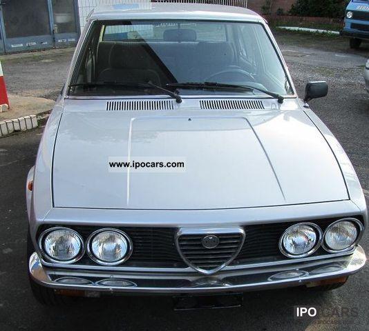 1981 Alfa Romeo Romeo Alfetta 1.8 L First Series