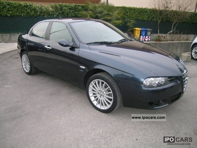 2005 alfa romeo 156 1 9 jtd classic car photo and specs. Black Bedroom Furniture Sets. Home Design Ideas