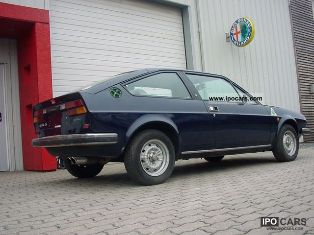 Alfa Romeo  Alfasud Sprint - original 1978 Vintage, Classic and Old Cars photo