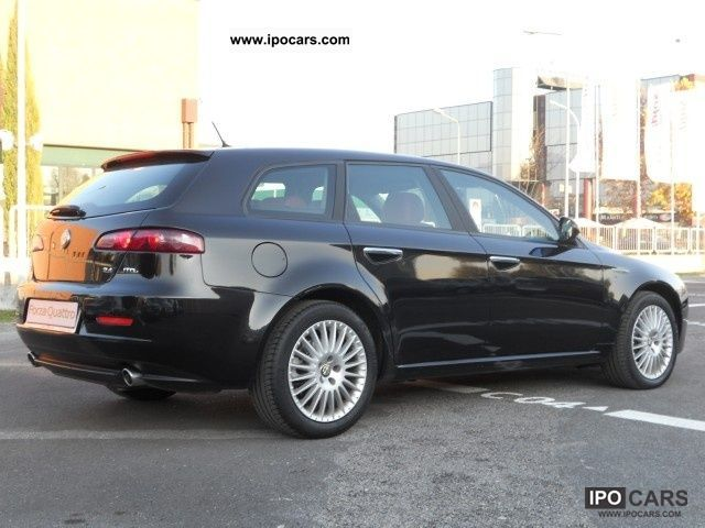 2006 alfa romeo 159 2 4 20v sw jtdm exclusive q tronic car photo and specs. Black Bedroom Furniture Sets. Home Design Ideas