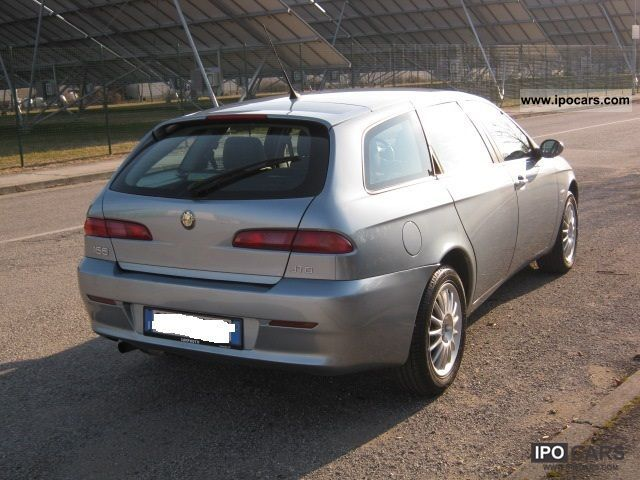2004 alfa romeo 156 sportwagon 1 9 jtd 115cv distinctive car photo and specs. Black Bedroom Furniture Sets. Home Design Ideas