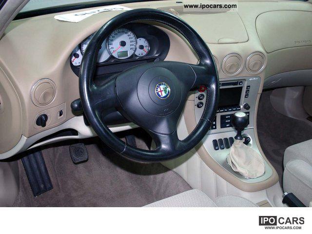 2004 Alfa Romeo 166 24 Jtd Car Photo And Specs