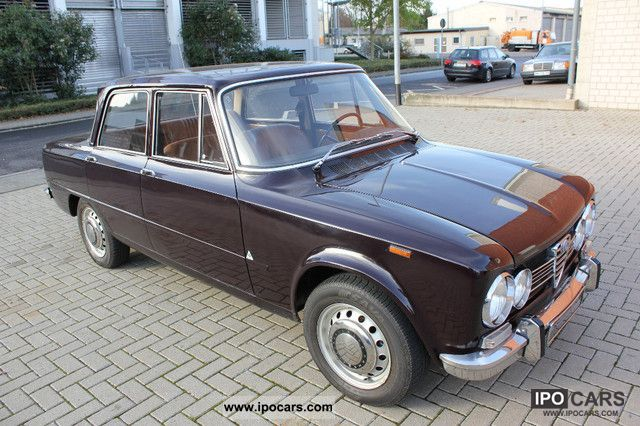 Alfa Romeo  Giulia 1300 TI 1969 Vintage, Classic and Old Cars photo