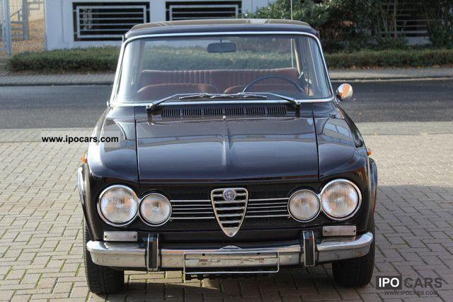 1969 alfa romeo giulia 1300 ti car photo and specs. Black Bedroom Furniture Sets. Home Design Ideas