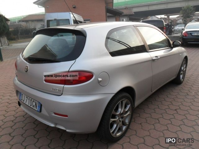 2007 alfa romeo 147 1 9 jtd m jet 16v 3 porte blackline. Black Bedroom Furniture Sets. Home Design Ideas