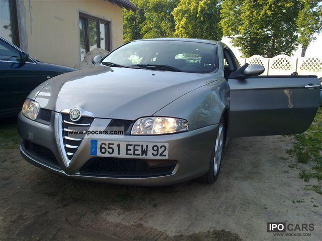 2004 Alfa Romeo  JTD 150 KM ALCANTARA Sports car/Coupe Used vehicle photo