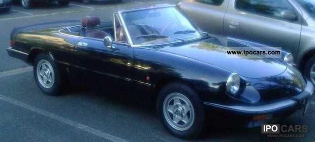 1986 Alfa Romeo  Spider 1.6 Cabrio / roadster Used vehicle photo