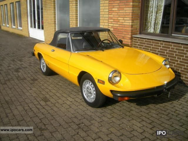 Alfa Romeo  Spider 1979 Vintage, Classic and Old Cars photo