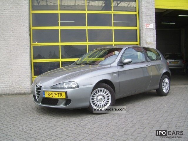 2006 alfa romeo 147 1 6 twin spark 16v progression car. Black Bedroom Furniture Sets. Home Design Ideas