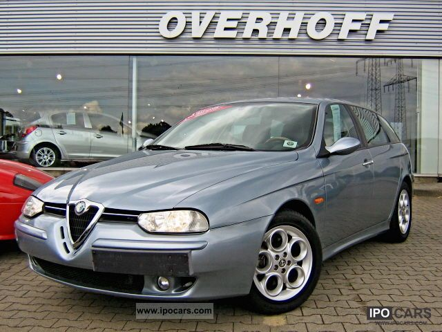2002 Alfa Romeo  156 Sportwagon 1.8 T.SPARK Distinctive Estate Car Used vehicle photo