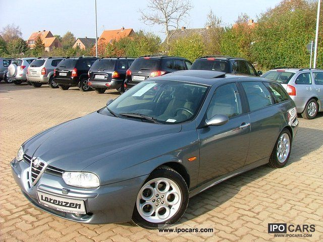 2002 alfa romeo 156 sw 2 0 jts progression car photo and specs. Black Bedroom Furniture Sets. Home Design Ideas