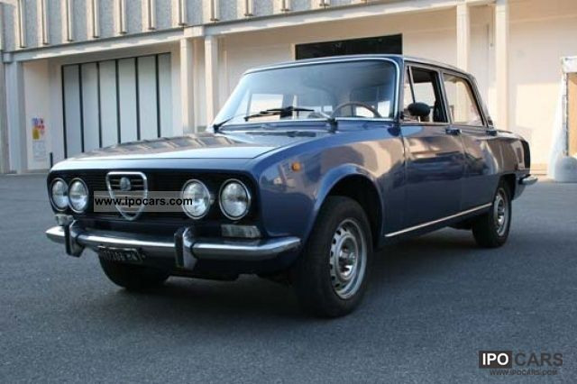 Alfa Romeo Giulia Berlina Car Photo And Specs - Alfa romeo giulia 1972