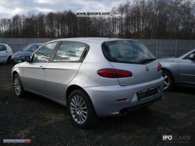 2006 alfa romeo 147 1 9 jtd 150km 6 bieg w car photo and specs. Black Bedroom Furniture Sets. Home Design Ideas