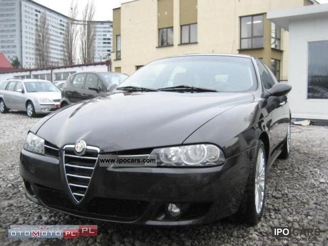 2003 Alfa Romeo  156 140km CZERW. SKORA AIR TRONIC Estate Car Used vehicle photo