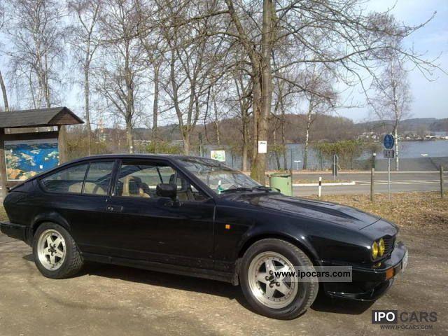 1982 Alfa Romeo  GTV6 almost classic Sports car/Coupe Used vehicle photo