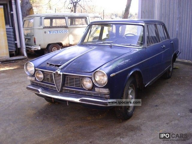 Alfa Romeo  2600 BERLINA 1962 Vintage, Classic and Old Cars photo