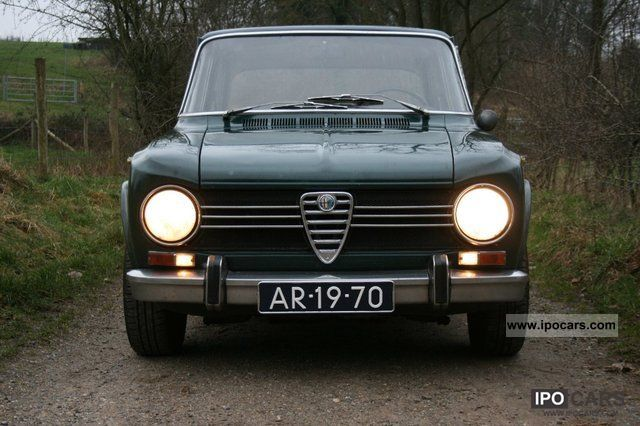 Alfa Romeo Giulia Super Car Photo And Specs - Alfa romeo giulia 1972
