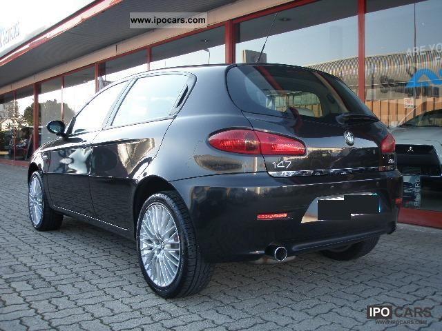 2006 alfa romeo 147 1 9 jtd 120cv exclusive 5pt car photo and specs. Black Bedroom Furniture Sets. Home Design Ideas