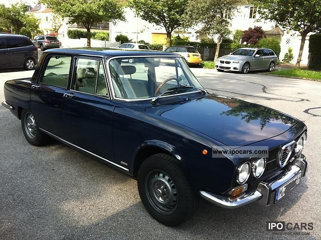 Alfa Romeo  2000 Berlina 1971 Vintage, Classic and Old Cars photo