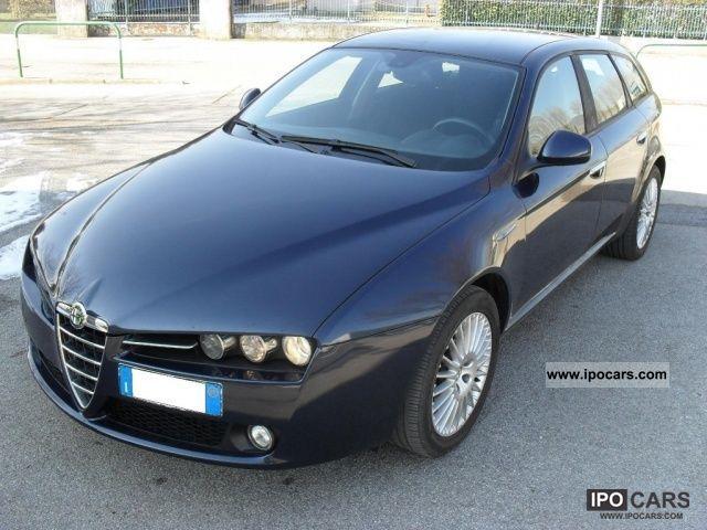 2007 alfa romeo 159 sw 1 9 120cv jtdm distinctive car photo and specs. Black Bedroom Furniture Sets. Home Design Ideas