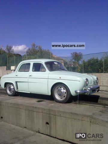 1963 Alfa Romeo  - Renault Dauphine modello, auto d'epoca Limousine Used vehicle photo
