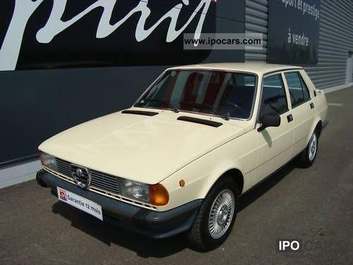 1980 Alfa Romeo  Giulietta 1800 Limousine Used vehicle photo