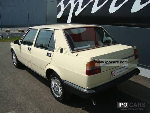 1980 alfa romeo giulietta 1800 car photo and specs. Black Bedroom Furniture Sets. Home Design Ideas